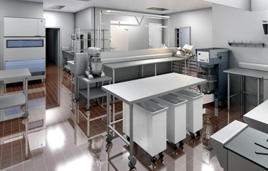 Kitchen for the Foodservice Industry, Custom Project Conversion